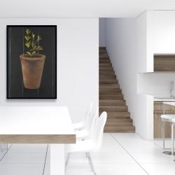 Framed 24 x 36 - Plant of marjolaine