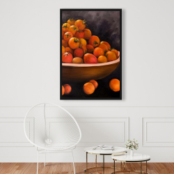 Framed 24 x 36 - Bowl of cherry tomatoes