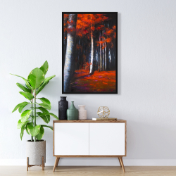 Framed 24 x 36 - Mysterious forest