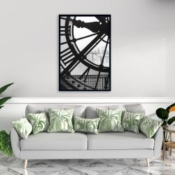 Framed 24 x 36 - Clock at the orsay museum