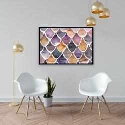 Framed 24 x 36 - Purple like a mermaid
