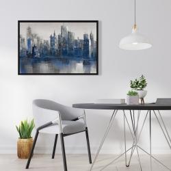 Framed 24 x 36 - Melancholy city