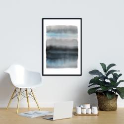 Framed 24 x 36 - Shade of blue
