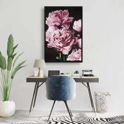 Framed 24 x 36 - Pink peonies