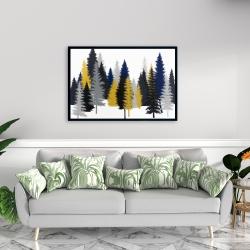 Framed 24 x 36 - Golden fir