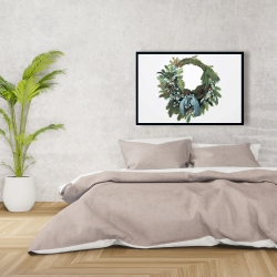 Framed 24 x 36 - Christmas wreath
