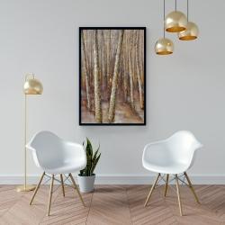 Framed 24 x 36 - Forest