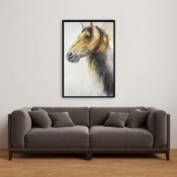 Framed 24 x 36 - Wild horse