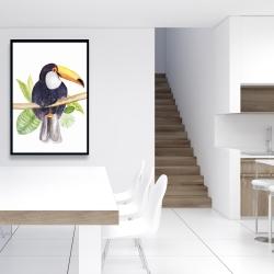 Framed 24 x 36 - Toucan