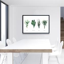 Framed 24 x 36 - Fine herbs