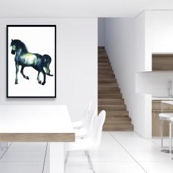 Framed 24 x 36 - Elegant horse