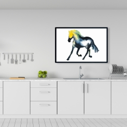 Framed 24 x 36 - Galloping horse