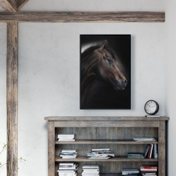 Framed 24 x 36 - Loneliness horse