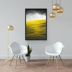 Framed 24 x 36 - Yellow hill