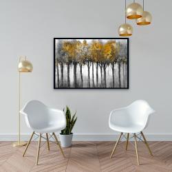 Framed 24 x 36 - Illuminated forest