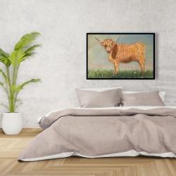 Framed 24 x 36 - Daisy the highland cow