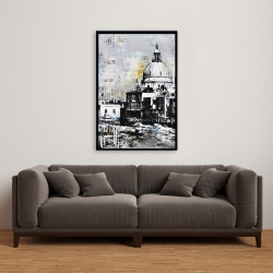 Framed 24 x 36 - Basilica of santa maria della salute