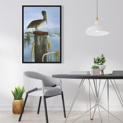 Framed 24 x 36 - Pelican
