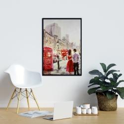Framed 24 x 36 - Couple walking