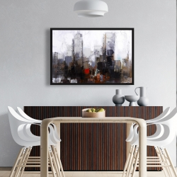 Framed 24 x 36 - Obscure city