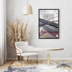 Framed 24 x 36 - Under the brooklyn bridge