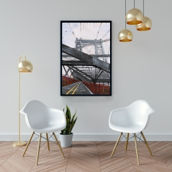 Framed 24 x 36 - Bridge architecture