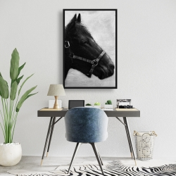 Framed 24 x 36 - Gallopin the horse