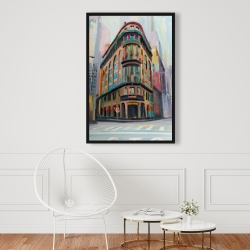 Framed 24 x 36 - Building architecture in new-york