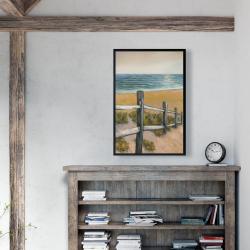 Framed 24 x 36 - Quiet seaside