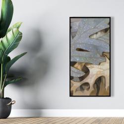 Framed 24 x 48 - Autumn leaves