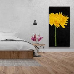 Framed 24 x 48 - Chrysanthemum
