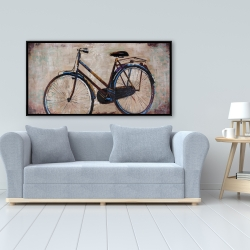 Framed 24 x 48 - Industrial bicycle