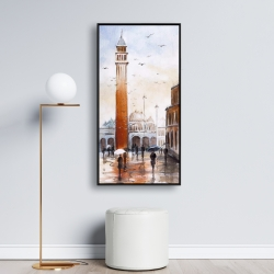 Framed 24 x 48 - St mark's square in venice