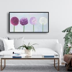 Framed 24 x 48 - Dahlia pompon