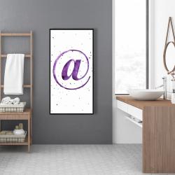 Framed 24 x 48 - At