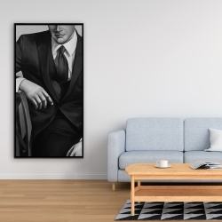 Framed 24 x 48 - Businessman
