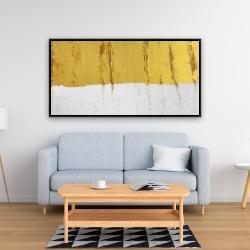 Framed 24 x 48 - Golden stripe