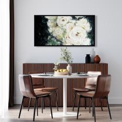 Framed 24 x 48 - Garden roses