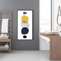 Framed 24 x 48 - Spheres