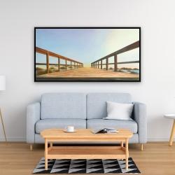 Framed 24 x 48 - Footbridge