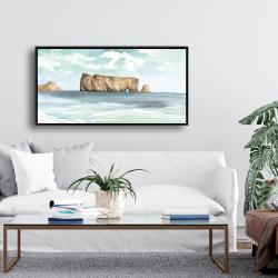 Framed 24 x 48 - Rocher percé