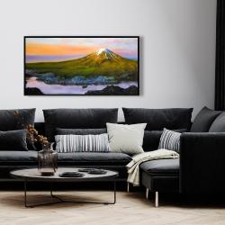 Framed 24 x 48 - Landscape mount fuji