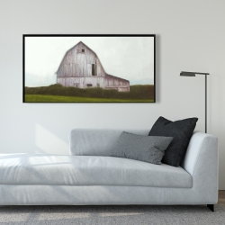 Framed 24 x 48 - Rustic barn