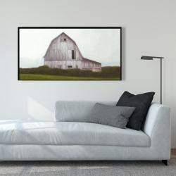 Framed 24 x 48 - Rustic barn