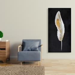 Framed 24 x 48 - Feather