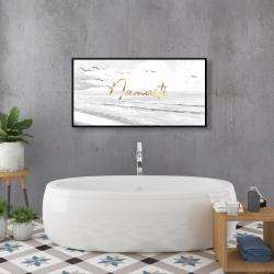 Framed 24 x 48 - Namaste