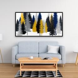 Framed 24 x 48 - Golden fir