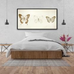 Framed 24 x 48 - Butterflies sketch