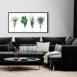 Framed 24 x 48 - Fine herbs