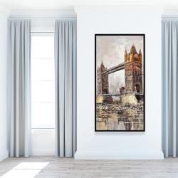 Framed 24 x 48 - London tower bridge